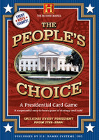 People Choice Presidential Card Game by Mike Fitzgerald
