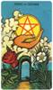 Morgan-Greer Tarot Deck Italian Asso di dinari