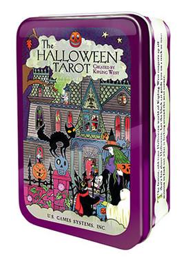 Halloween Tarot in Tin