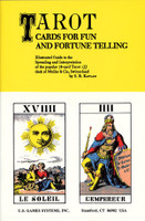 TAROT CARDS FOR FUN AND FORTUNE TELLING by Stuart R. Kaplan