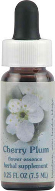 Flower Essence Healing Herb® Cherry Plum Supplement Dropper -- 0.25 fl oz