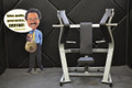 Used Technogym Pure Strength PL Chest Press