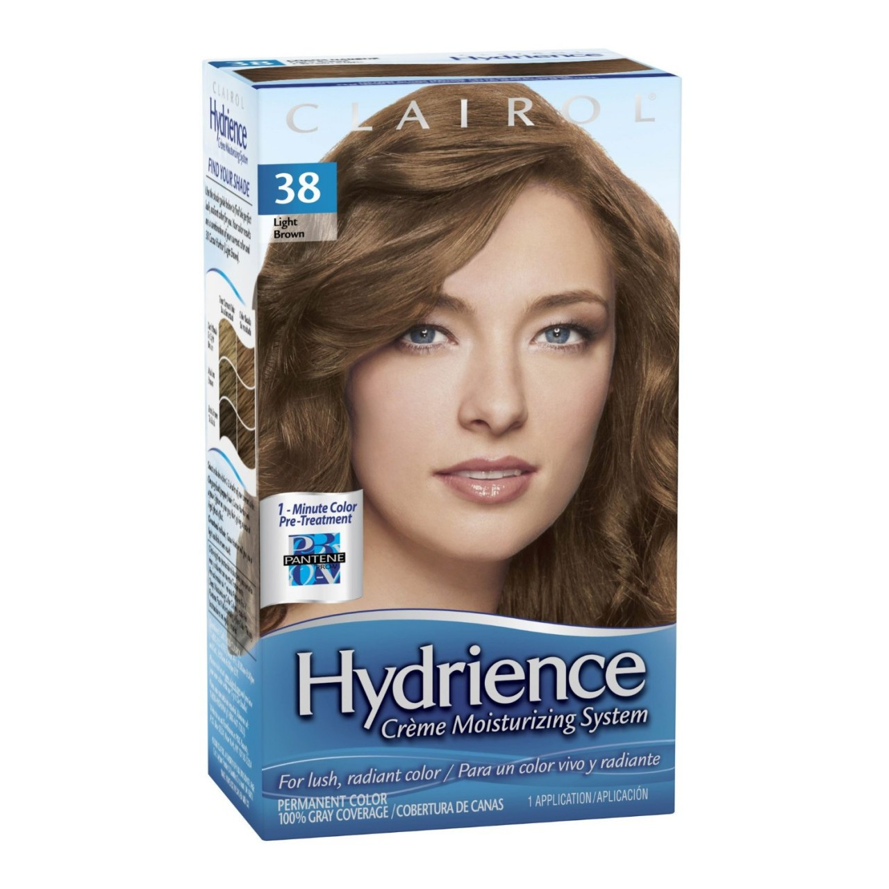 Clairol Hydrience Color Template 109