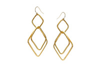 Big Michaela Earrings Gold