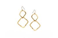 Gloria Earrings Gold