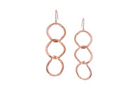 Karen Earrings Rose Gold