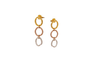 Rosalina Post Earrings Gold