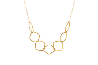 Beverly Necklace Gold
