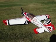 "Aeroplus 111"" Extra 330 120CC- Black Cowl Scheme"