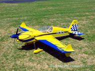 "Extreme Flight 83"" MXS GAS- Blue/ Yellow"