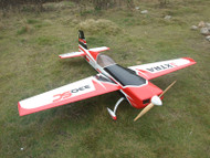 "*NEW* Aeroplus 92"" EXTRA 330SC 60CC- Red/ Black"