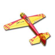 "Aeroplus 126"" Yak55M 170CC red yellow"