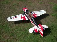 """Aeroplus 60"""" SBACH342 70 Red Cowl Scheme (chinakote"""