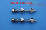 Stainless steel Axle Kit  (2pc) 3.5 X 29mm