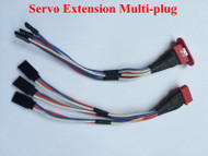 Servo Extension Multi Plug , 3 wire version