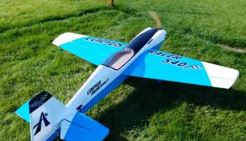Aeroplus 76 Quot Corvus Racer 540 35cc Baby Blue Scheme