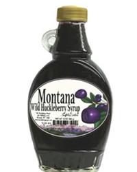 Wild Huckleberry Syrup