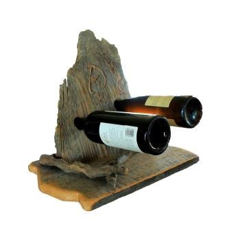 TRW Woodwork Wine Bottle Display