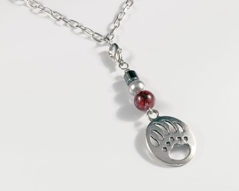 Griz Necklace (single round bead)