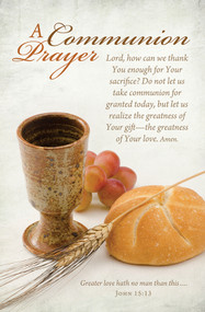 Communion Bulletin U4859 (sold in units of 100)
