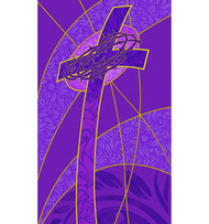 Cross Crown of Thorns Banner B2263  --  3' x 5'