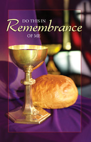 Communion Bulletin 21-1105 (sold in units of 50)