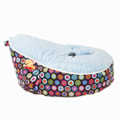 Bubble Blue Bean Bag