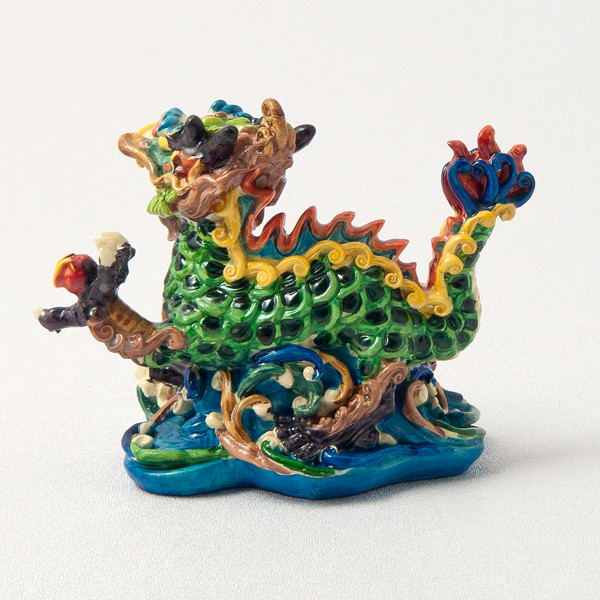 Colorful Dragon - rear view