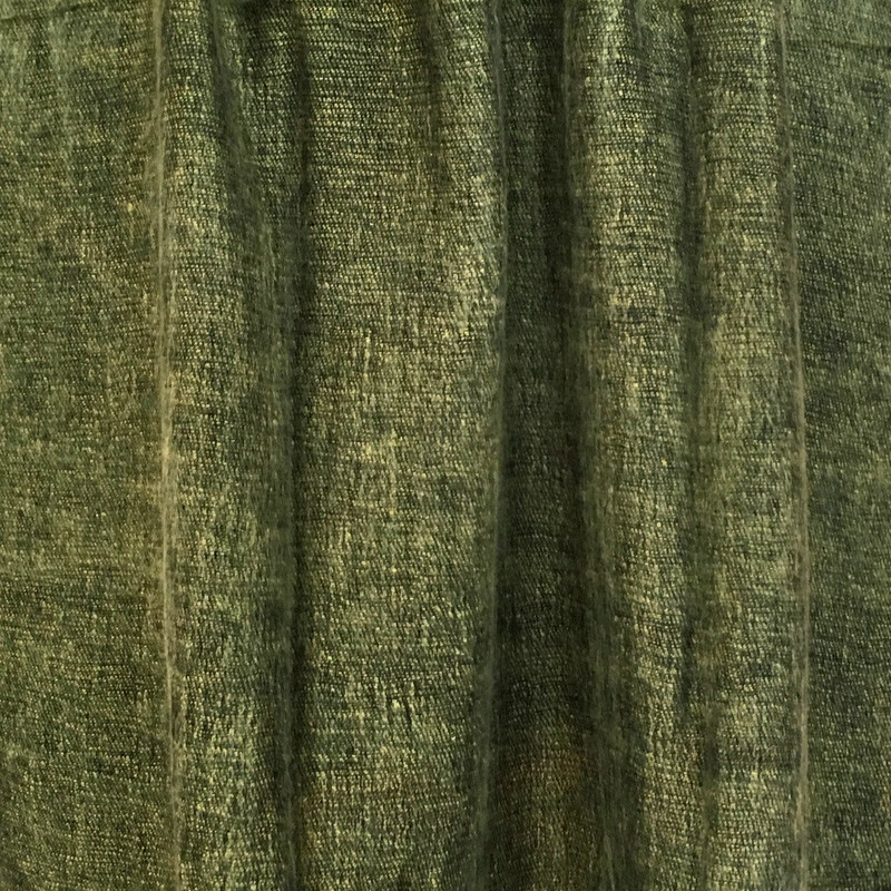 Woolen Shawl Color - Moss
