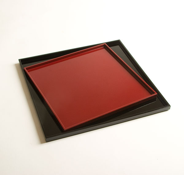 Lacquered Trays close-up