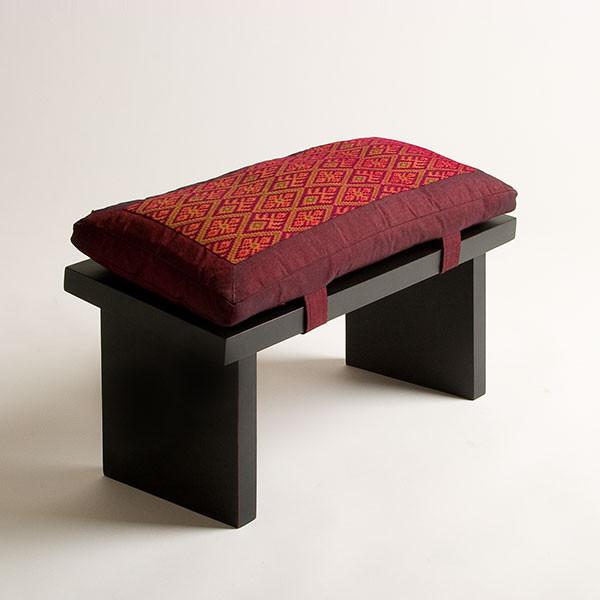 Seiza Bench with cushion