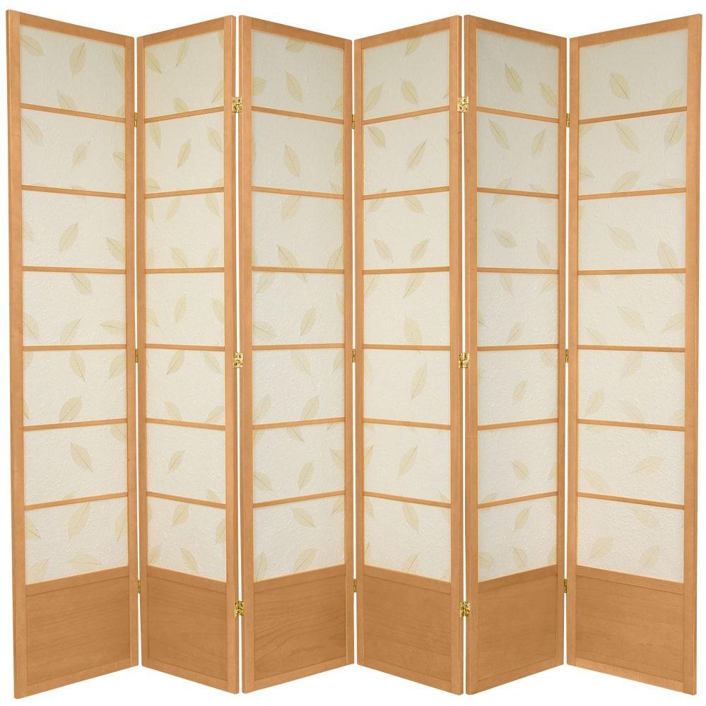 Botanic Shoji Screen - 6 panels