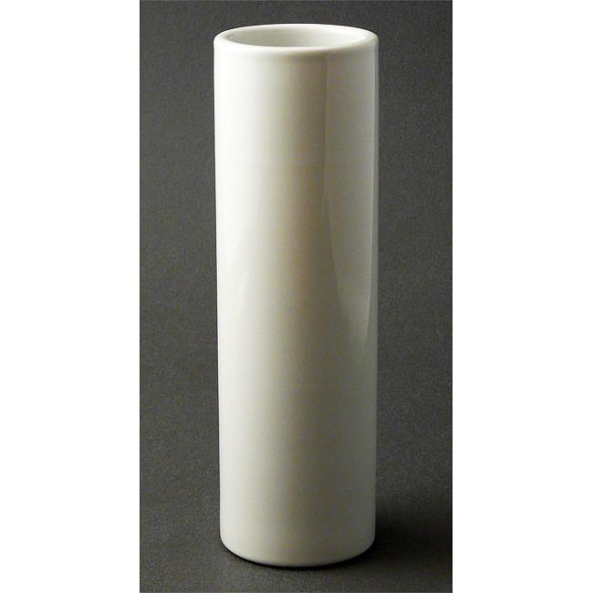 Nageire White Cylinder Vase For Ikebana Ziji