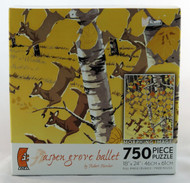 Click to buy Metamorphosis Aspen Grove Ballet 750 piece Jigsaw Puzzle Robert Kercher