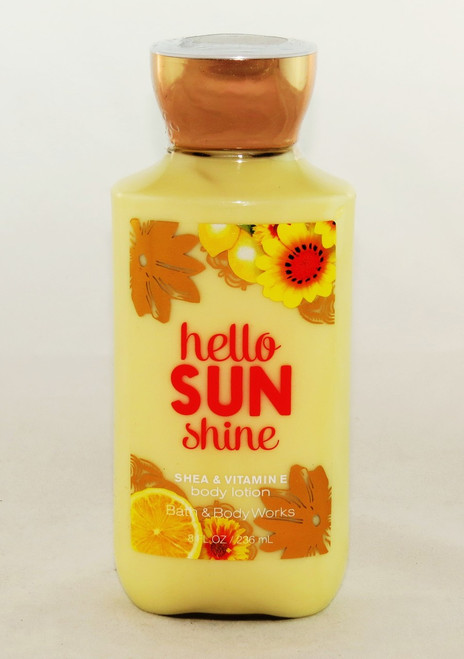 Hurry buy now! Hello Sunshine Bath and Body Works Lotion