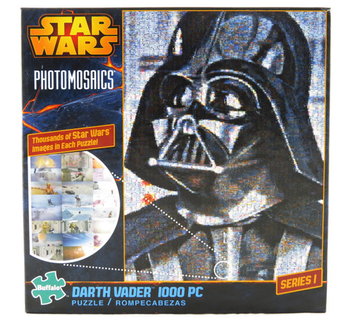 Click here to buy Darth Vader Photomosaic 1000 piece Jigsaw Puzzle Star Wars