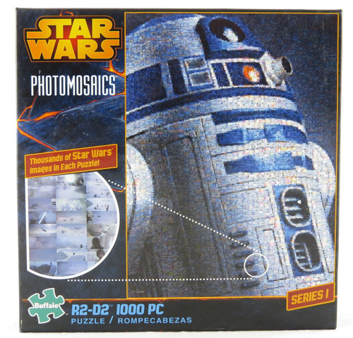 Hurry and buy R2-D2 Star Wars Photomosaic Jigsaw Puzzle 1000 piece NEW!