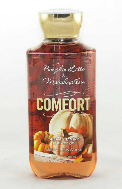 Shop now for Comfort Pumpkin Latte Marshmallow Shower Gel Wash Bath and Body Works