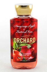 Click here to buy Orchard Honeycrisp Apple Buttered Rum Shower Gel Wash Bath and Body Works
