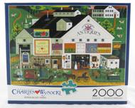 Shop now for Charles Wysocki 2000 piece Jigsaw Puzzle Peppercricket Farm