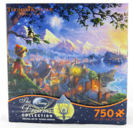Buy Pinocchio Disney Dreams Thomas Kinkade 750 piece jigsaw puzzle NEW!