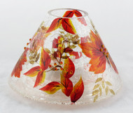 Shop now for Autumn Leaf Crackle Glass Jar Shade Yankee Candle
