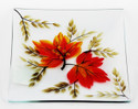Shop now for Autumn Leaf Glass Yankee Candle Plate Tray