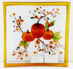 Shop now for Pumpkin Harvest Glass Candle Plate Tray Yankee Candle