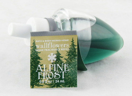 Shop Alpine Frost Wallflower Fragrance Bulb Bath and Body Works