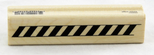 Buy Candy Cane Stripe Border Wood Mounted Stamp Penny Black now!