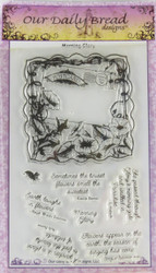 Shop now for Morning Glory Cling Stamp Collection from Our Daily Bread