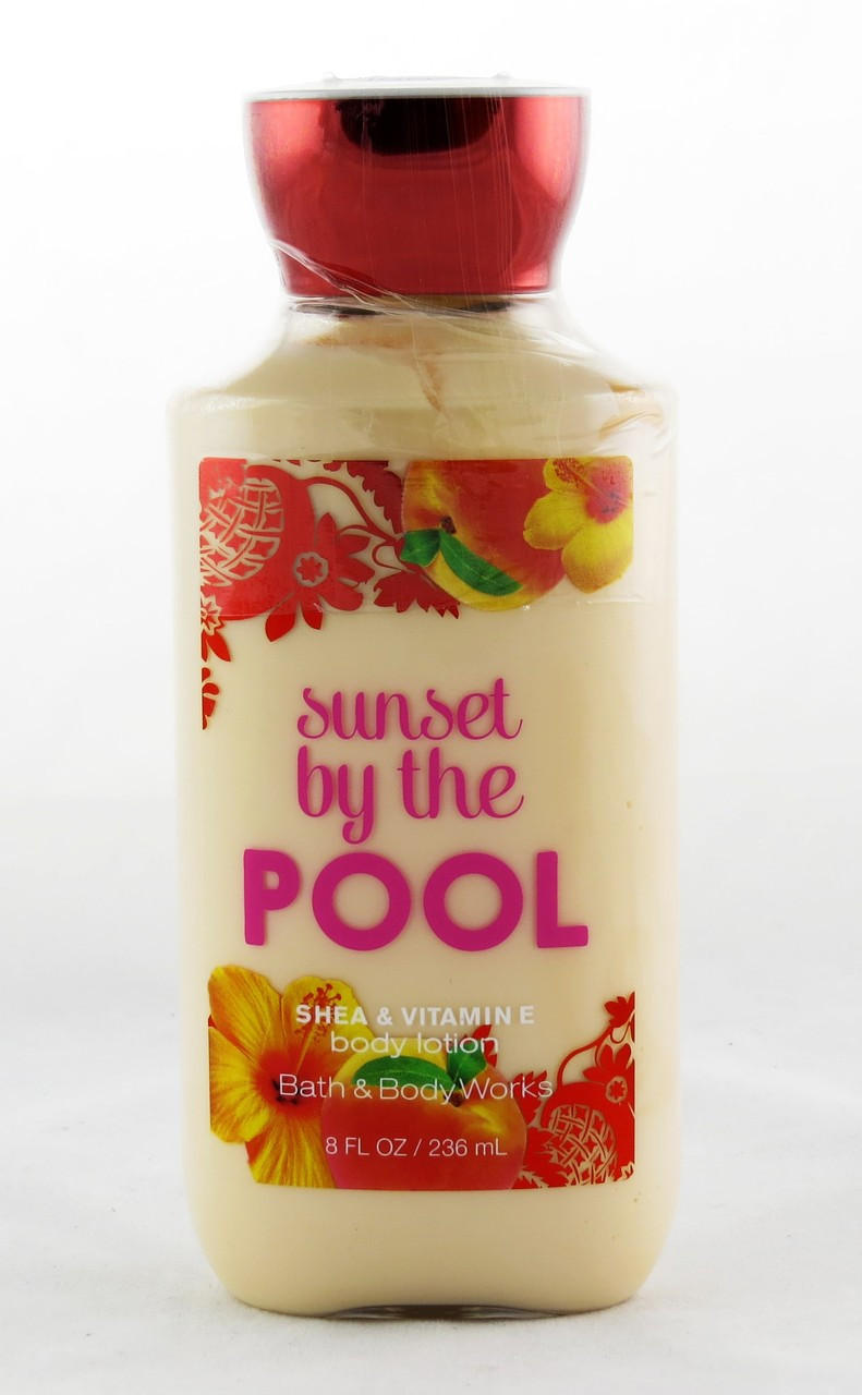 Sunset By The Pool Body Lotion Archway Variety