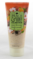 Shop now for Peach Honey Almond Creamy Body Scrub Bath and Body Works