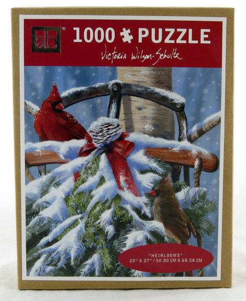 Shop now for Cardinals Heirlooms 1000 piece Jigsaw Puzzle